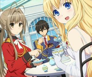 anime and amagi brilliant park image