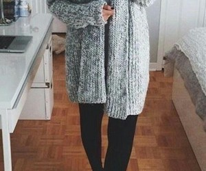 fashion, outfit, and cozy image