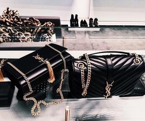 bag, YSL, and fashion image