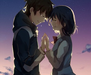 anime and kimi no na wa image