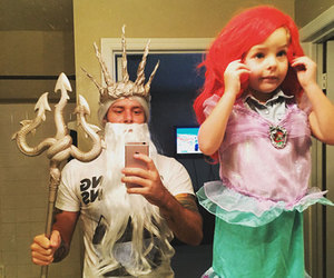 ariel, costume, and Halloween image