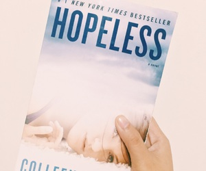 book, hopeless, and good reads image