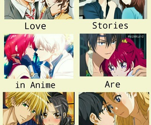 anime, romance, and zen image