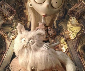 frankenweenie, tim burton, and fluffy cat image