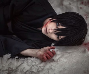 cosplay, noragami, and anime boy image