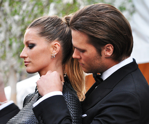 couple and Gisele Bundchen image