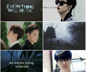aesthetic, JB, and youngjae image