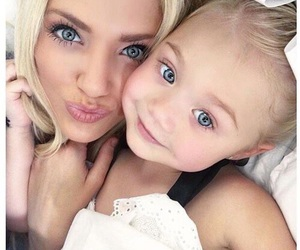 family, baby, and blue eyes image