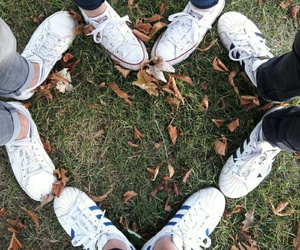 shoes, adidas, and love image