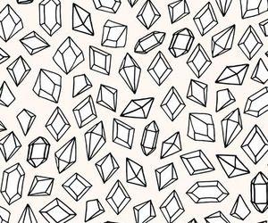 diamond, wallpaper, and pattern image