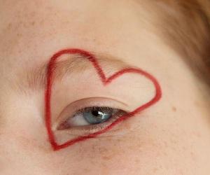 heart, eye, and aesthetic image