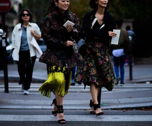 fashion, fashion week, and paris image