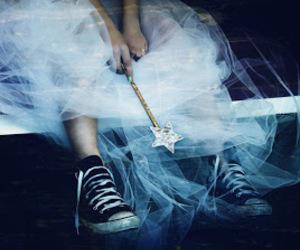 converse, princess, and fairy image