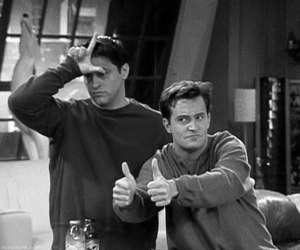friends, chandler, and Joey image