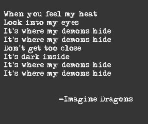 demons, music, and imagine dragons image