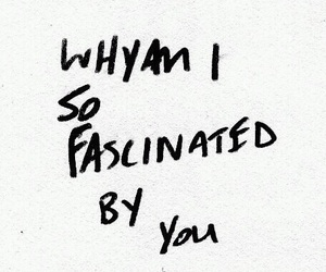 love, quotes, and fascinated image