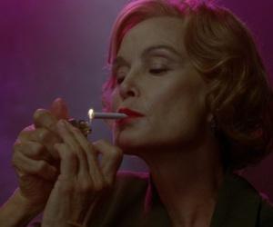 actress, asylum, and cigarette image