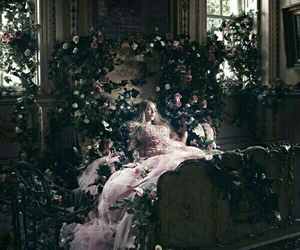 sleeping beauty, fairytale, and fantasy image