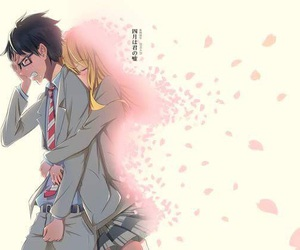 anime, your lie in april, and shigatsu wa kimi no uso image