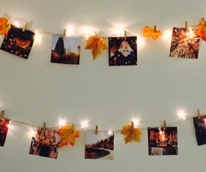 fall, autumn, and decor image
