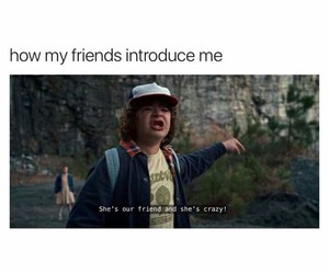 funny, crazy, and stranger things image