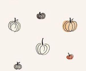 pumpkin, wallpaper, and autumn image
