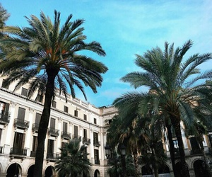 amazing, sky, and Barcelona image