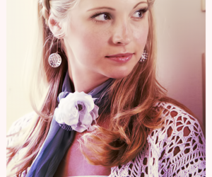 candice accola, caroline forbes, and tvd image