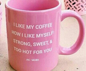 coffee, pink, and funny image
