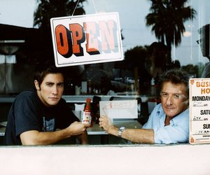 dustin hoffman and jake gyllenhaal image