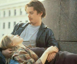before sunrise, movie, and couple image