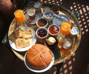 food, breakfast, and morocco image