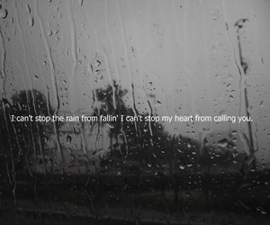 rain, jonas brothers, and quote image