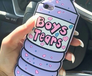 case, iphone, and boys tears image