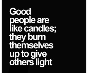 candle, light, and quote image