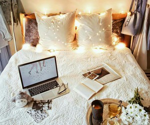 bedroom, room, and cosy image