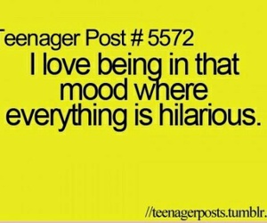 teenager post, funny, and hilarious image