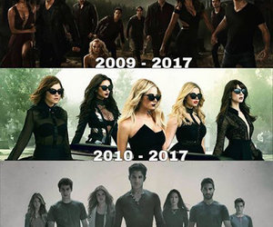 dark, shows, and the vampire diaries image