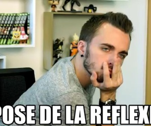 french, meme, and réflexion image