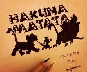 film, hakuna matata, and king image