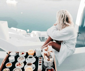 food, breakfast, and summer image