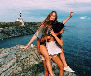 beach, best friends, and tumblr image