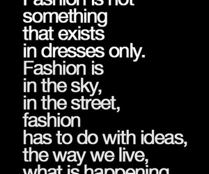 fashion, quotes, and coco chanel image