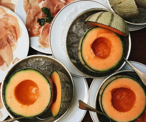 orange, theme, and fruit image