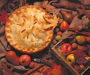 autumn, pie, and fall image