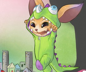 gnar, lol, and league of legends image