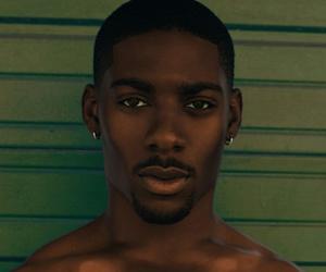 bae, fine, and black men image