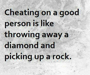 quotes, cheating, and diamond image