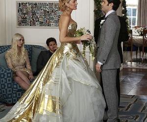 gossip girl, wedding, and serena image