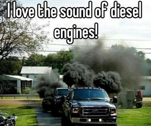 diesel, sound, and truck image